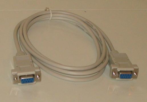 нужен нуль-модемный кабель
